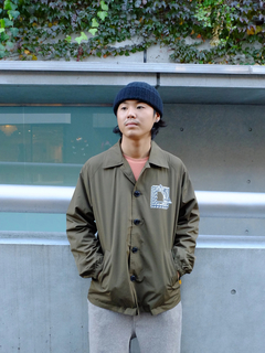 TCSS(ティーシーエスエス) |BUTTON COACH JACKET