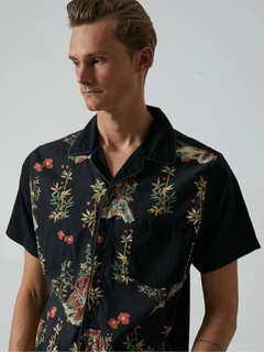 BANKS  JOURNAL(バンクスジャーナル) |JARED MELL S/S WOVEN SHIRT